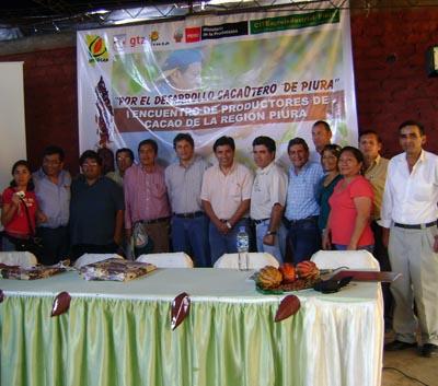 I Encuentro Regional de Cacaoteros de Piura