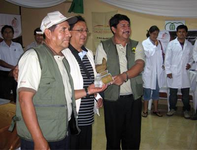 Dionisio Vargas, Hiderico Bocangel y Juan Andrés Amao
