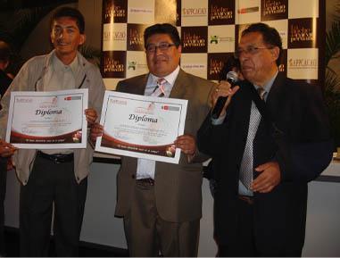 Cooperativa Tocache y CACVRA también fueron reconocidos por su gran desempeño