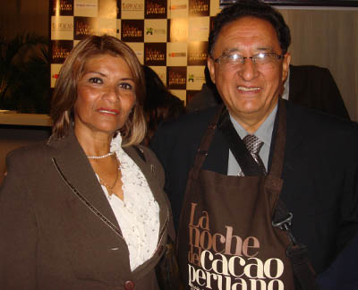 Carmen Rosa Chávez e Hiderico Bocangel