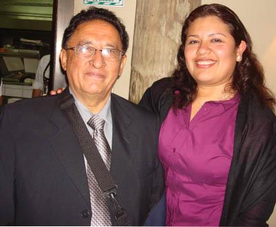 Pamela Esquivel e Hiderico Bocangel