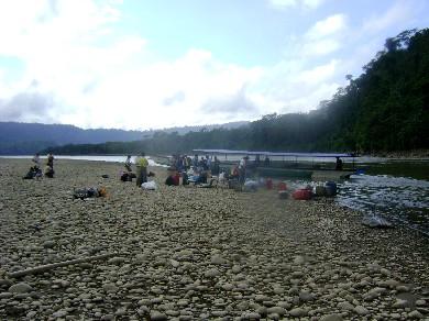 A orillas del río Ene