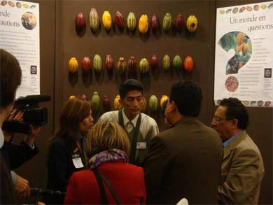 Mario Cavero en el Salón del Chocolate